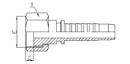 R12 উচ্চ চাপ পায়ের পাতার মোজাবিশেষ