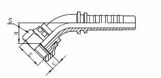 R1AT হাইড্রোলিক পায়ের পাতার মোজাবিশেষ সমাবেশ