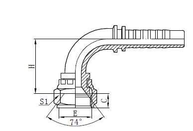 দুই ওয়্যার ব্রেইড পায়ের পাতার মোজাবিশেষ সমাবেশ